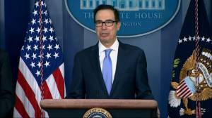 Coronavirus: Mnuchin says Trump doesn't need to wear a mask, just the 'rest of us'