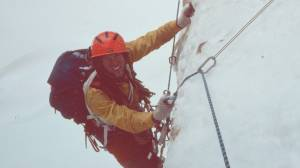 American climbing legend Jim Donini has no plans to stop