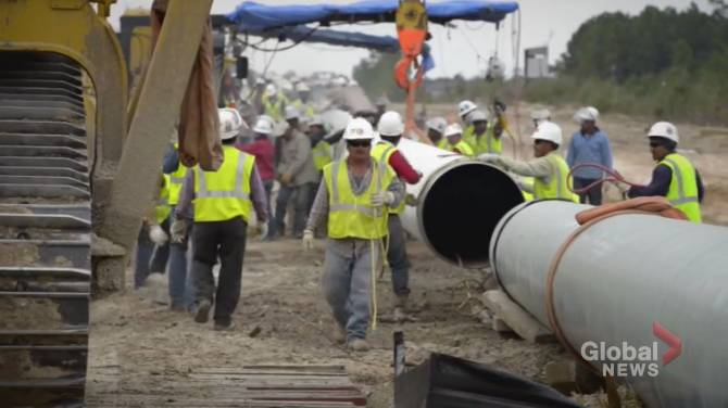 Click to play video: How will the PM preserve the Keystone XL pipeline?
