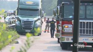Deadly collision in Clarington (01:20)