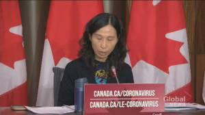 Coronavirus: Tam says increasing number of outbreaks linked to superspreader events (00:51)