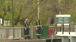 A small mistake turns into a large diesel spill on the Rideau Canal (01:48)