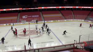 Canucks, Flames games rescheduled as players recover from COVID-19 (01:30)