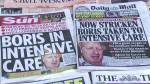 Coronavirus outbreak: Boris Johnson 'stable' in intensive care unit