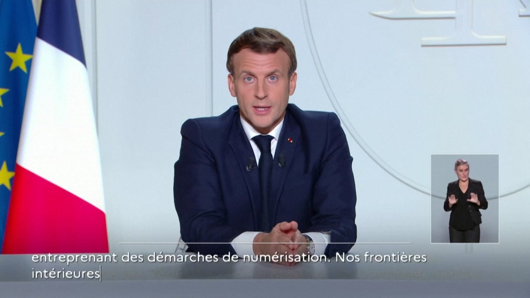 Click to play video 'Coronavirus: French President Macron orders nation back into COVID-19 lockdown'