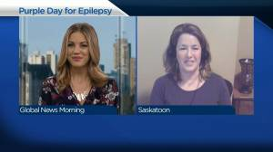 Saskatoon landmarks to go purple in support of people with epilepsy (04:06)