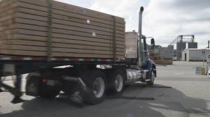 Logging truck protest expected to cause traffic delays