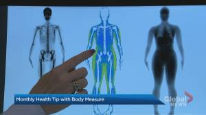 Monthly health tip with Body Measure