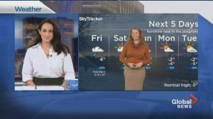 Global News Morning weather forecast: Friday, December 4, 2020 (01:40)