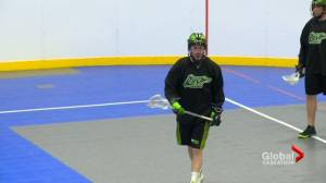 Saskatchewan Rush veteran defender glad to be back
