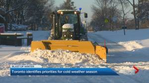 Toronto puts snow-clearing strategy on display