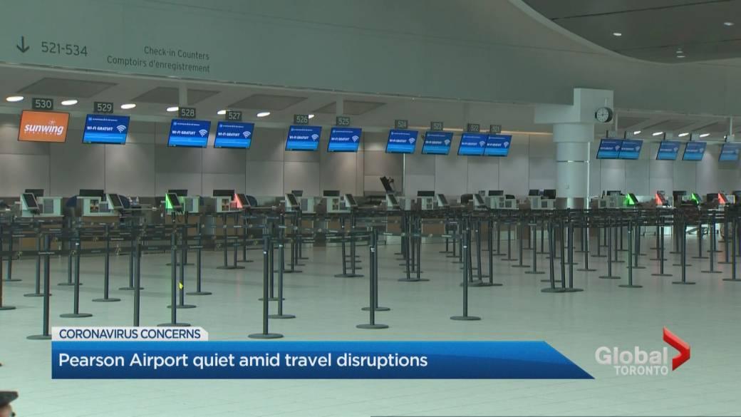 Coronavirus Toronto S Porter Airlines Temporarily Suspends Flights Lays Off Staff Globalnews Ca