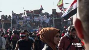 4 killed, 48 injured as protests in Baghdad continue