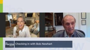 Checking in with Bob Newhart