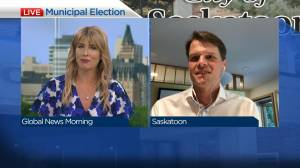 Saskatoon mayor on running for 2nd term in office