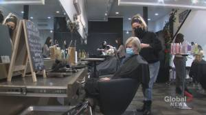 COVID-19: Salons and spas among businesses facing 'really, really tough' struggle to survive Alberta shutdown (01:49)
