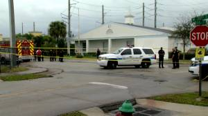 Police respond after shooting in Florida leaves 2 dead, 2 injured following funeral