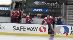 COVID-19: Lethbridge Hurricanes react as unique WHL season draws to a close (01:56)