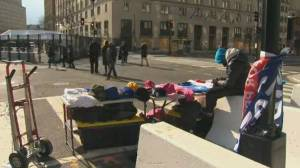 Pandemic, tight security leaves D.C. streets quiet for inauguration (02:33)