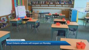 Students across GTA prepare to return to class including COVID-19 hotspots (02:41)