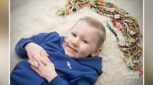 Kids with Cancer: Daxton's journey with leukemia (04:25)