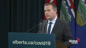 Premier  Kenney under intense criticism as Alberta health-care system is strained by COVID-19 pandemic (01:54)