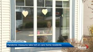 Pandemic taking emotional toll on residents of long term care homes in the Okanagan as many facilities implement lockdown measures (02:33)