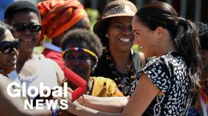 Meghan Markle, Prince Harry welcomed to Cape Town in first stop of Africa royal tour