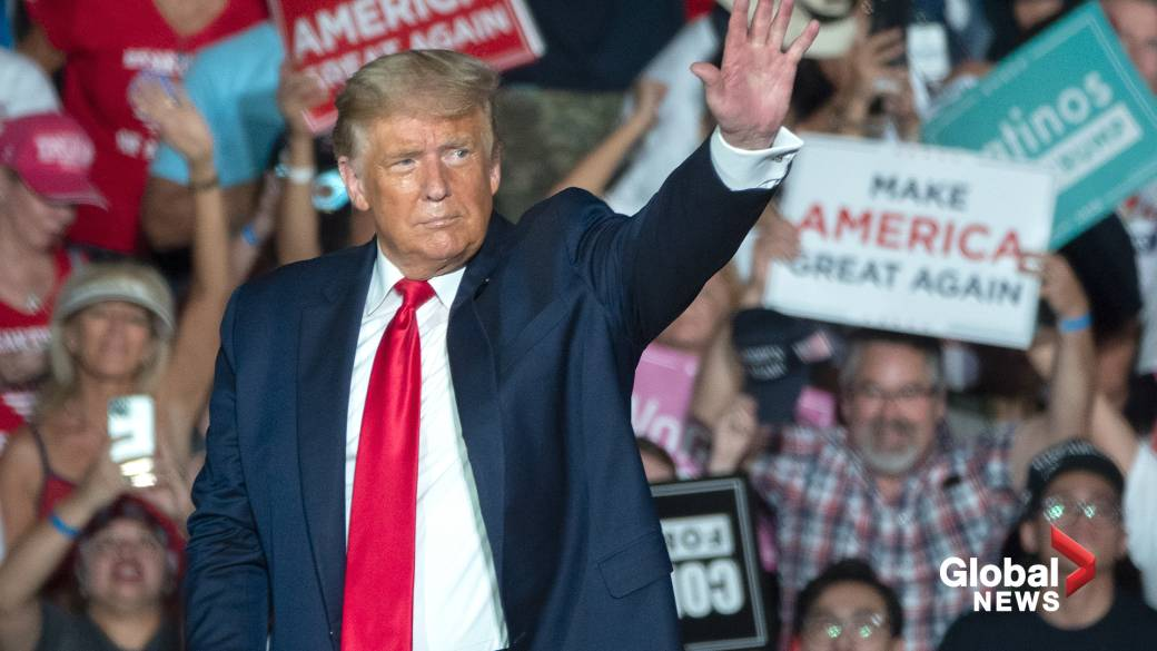 Trump says in return to campaign trail that he feels 'powerful''