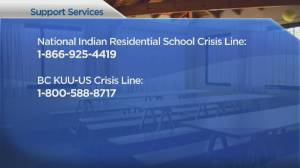 Reaction from B.C. premier, prime minister to heartbreaking Kamloops residential school discovery (02:42)
