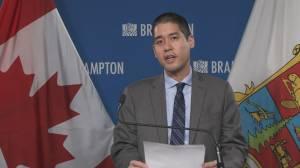 Peel Region's top doctor recommending grey-lockdown zone in Ontario's COVID-19 framework (02:47)