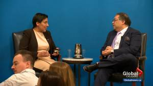 Nenshi outlines 3 options for city budget to chamber of commerce