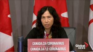 Coronavirus: Dr. Tam says CFL's Winnipeg hub would work much like NHL's (01:05)
