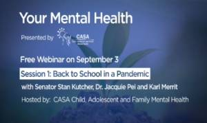 Your mental health with CASA Child, Adolescent and Family Mental Health
