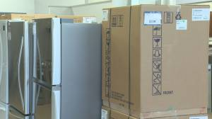 Delivery delays for appliance orders (01:45)