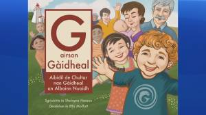 Dartmouth, NS Publisher Launches Children's Book in English, French & Gaelic (06:38)