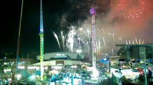 Calgary Stampede surprises with fireworks display