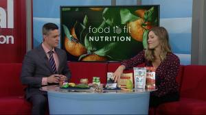 Healthy snack options from Food to Fit