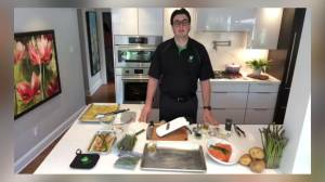 Alex Kealey serves up a Foodland Ontario recipe