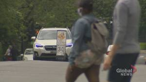 Cote-des Neiges-N-D-G borough expands pedestrian corridors for the summer (01:45)