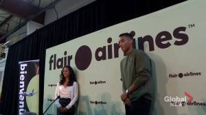 Tennis stars Felix Auger-Aliassime, Leyla Fernandez return home after U.S. Open (02:03)