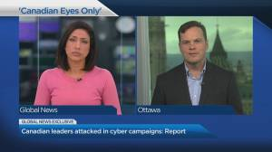 Canadian leaders attacked in cyber campaigns: Report