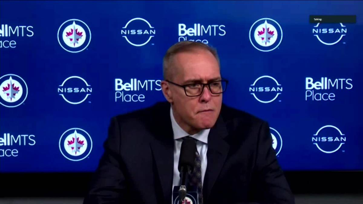 Click to play video: 'RAW: Paul Maurice speaks after loss to Leafs'