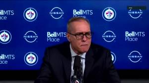 RAW: Paul Maurice speaks after loss to Leafs (03:13)