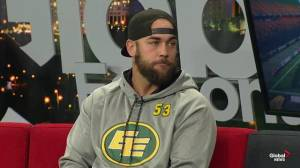 Edmonton Eskimos preparing to face the B.C. Lions