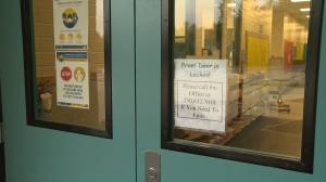 Bubble zones and injunctions considered after anti-vaccine protestors enter schools in Salmon Arm (02:48)