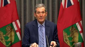 Coronavirus: Pallister blasts federal government over lack of made-in-Canada COVID-19 vaccines (03:36)