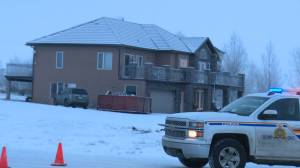 RCMP investigate shooting in Conrich, Alta. on Jan. 8, 2020