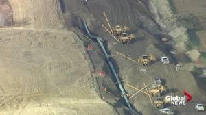 Alberta Premier Jason Kenney calls for compensation amid cancellation of Keystone XL (01:58)