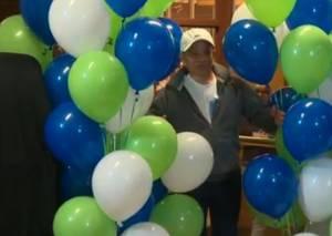 Man finally claims $60M lottery jackpot
